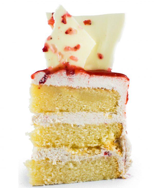 Strawberry birthday cake melbourne delivered