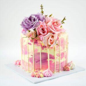 Pink Pastel Cake