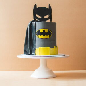 Large sized batman cake